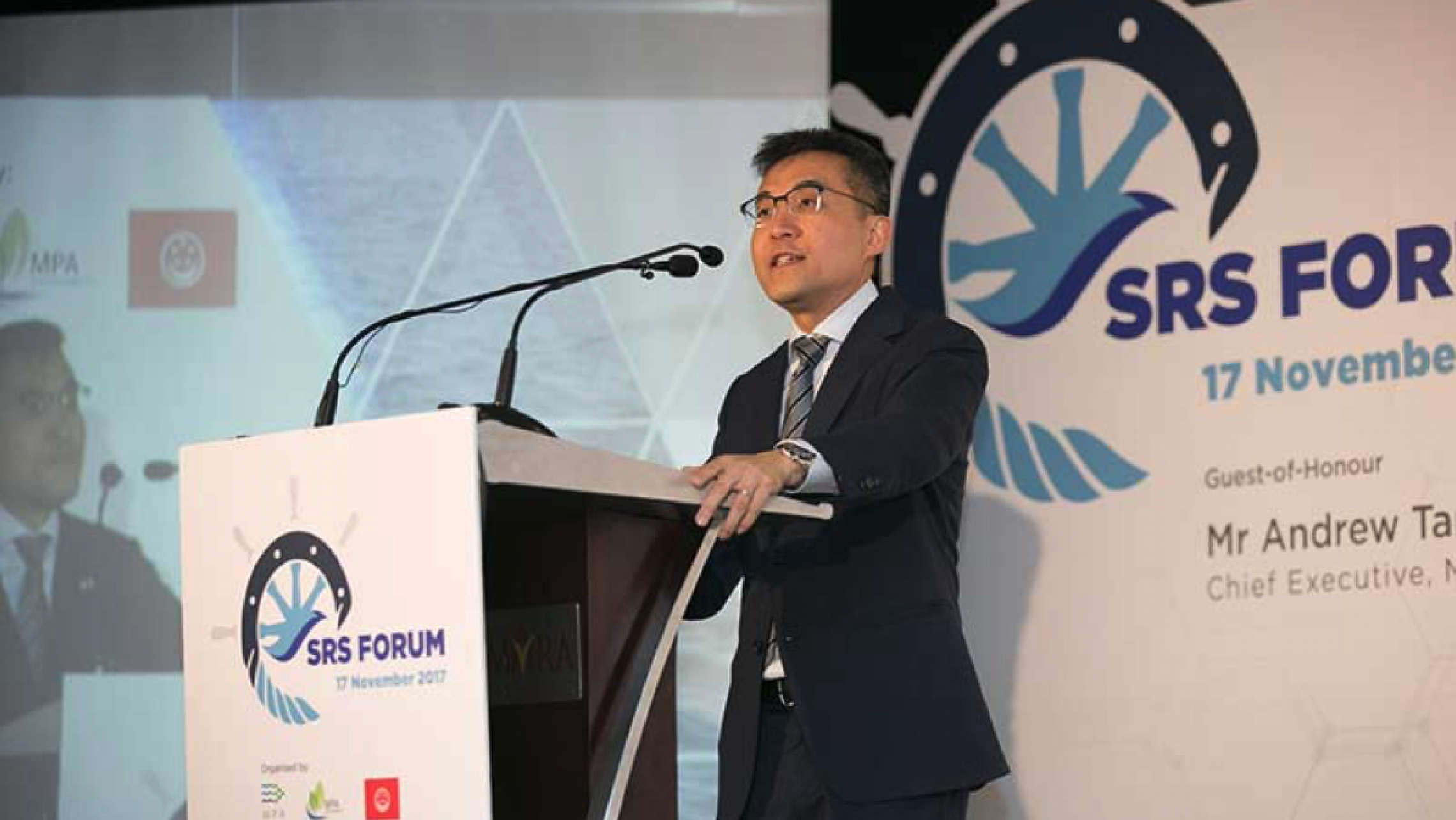 Mr. Tan, chief executive manager Singapore Maritime Port Authority